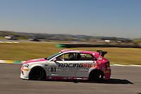 SÃO PAULO, SP, 21 DE JULHO DE 2012 - 4ª ETAPA AUDI DTCC:  Aline Cipriane durante quarta etapa da Audi DTCC (Driver Touring Car Cup) 2012, em prova realizada neste sábado (21), no Autódromo de Interlagos em São Paulo. FOTO: LEVI BIANCO - BRAZIL PHOTO PRESS