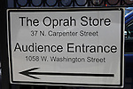 The Oprah Store during Oprah Winfrey Mania - Farewell to The Oprah Winfrey Show after 25 Years in Chicago.