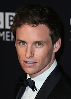 BEVERLY HILLS, CA, USA - OCTOBER 30: Eddie Redmayne arrives at the 2014 BAFTA Los Angeles Jaguar Britannia Awards Presented By BBC America And United Airlines held at The Beverly Hilton Hotel on October 30, 2014 in Beverly Hills, California, United States. (Photo by Xavier Collin/Celebrity Monitor)