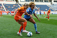 Bridgeview, IL - Sunday September 08, 2019: Chicago Red Stars vs Houston Dash at SeatGeek Stadium.