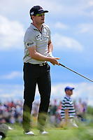 Zach Johnson (USA) watches his tee shot on 7 during Sunday's round 4 of the 117th U.S. Open, at Erin Hills, Erin, Wisconsin. 6/18/2017.<br /> Picture: Golffile | Ken Murray<br /> <br /> <br /> All photo usage must carry mandatory copyright credit (&copy; Golffile | Ken Murray)