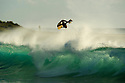 Mitch Rawlins at the beachie in front of Jake's in Kalbarri, Western Australia.