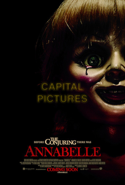 POSTER ART<br /> in Annabelle (2014) <br /> *Filmstill - Editorial Use Only*<br /> CAP/NFS<br /> Image supplied by Capital Pictures