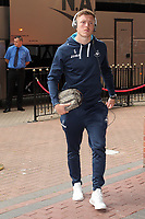 Alfie Mawson of Swansea City arrives prior to the Premier League match between Sunderland and Swansea City at the Stadium of Light, Sunderland, England, UK. Saturday 13 May 2017