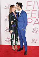 WESTWOOD, CA - MARCH 07: Emily Baldoni (L) and Justin Baldoni attend the Premiere Of Lionsgate's 'Five Feet Apart' at Fox Bruin Theatre on March 07, 2019 in Los Angeles, California.<br /> CAP/ROT/TM<br /> &copy;TM/ROT/Capital Pictures
