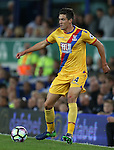 Martin Kelly of Crystal Palace during the Premier League match at Goodison Park Stadium, Liverpool. Picture date: September 30th, 2016. Pic Simon Bellis/Sportimage