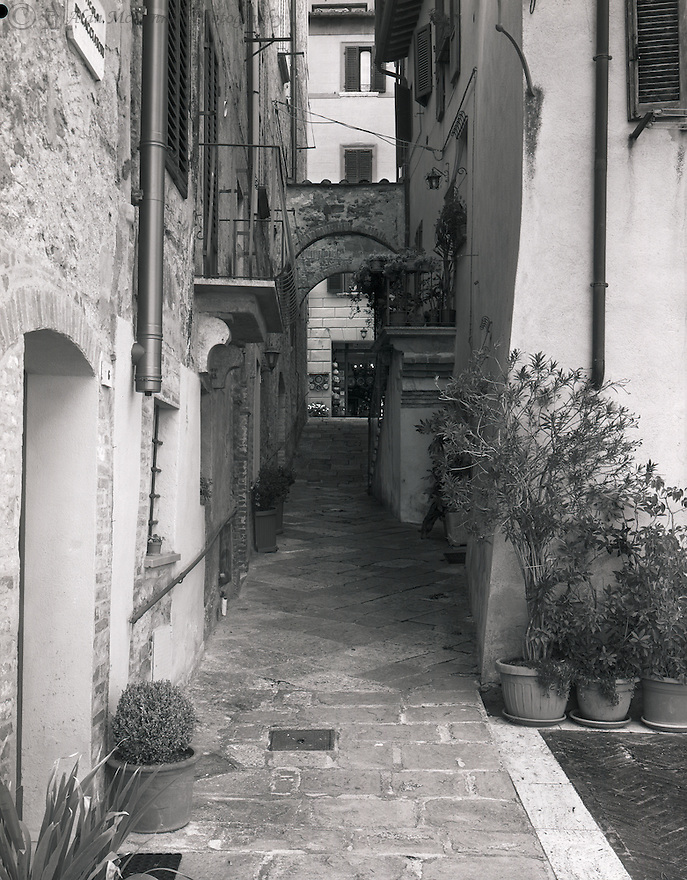"""Exploring a Back Alley in Montepulciano""<br />