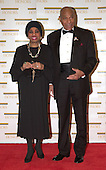 "Leontyne Price, left, and General George Price, right, arrive at the Harry S. Truman Building (Department of State) in Washington, D.C. on December 4, 2004 for a dinner hosted by United States Secretary of State Colin Powell.  At the dinner six performing arts legends will receive the Kennedy Center Honors of 2004.  This is the 27th year that the honors have been bestowed on ""extraordinary individuals whose unique and abundant artistry has contributed significantly to the cultural life of our nation and the world"" said John F. Kennedy Center for the Performing Arts Chairman Stephen A. Schwarzman.  The award recipients are: actor, director, producer, and writer Warren Beatty; husband-and-wife actors, writers and producers Ossie Davis and Ruby Dee; singer and composer Elton John; soprano Joan Sutherland; and composer and conductor John Williams.<br /> Credit: Ron Sachs / CNP"