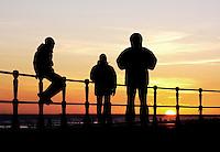 Jongeren in Scheveningen