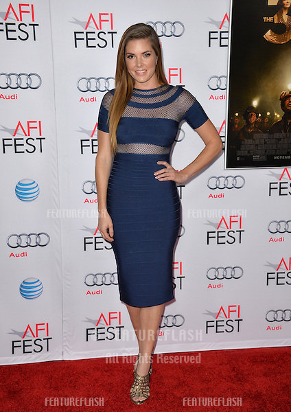 Nikki Moore at the premiere of &quot;The 33&quot;, part of the AFI FEST 2015, at the TCL Chinese Theatre, Hollywood. <br /> November 9, 2015  Los Angeles, CA<br /> Picture: Paul Smith / Featureflash