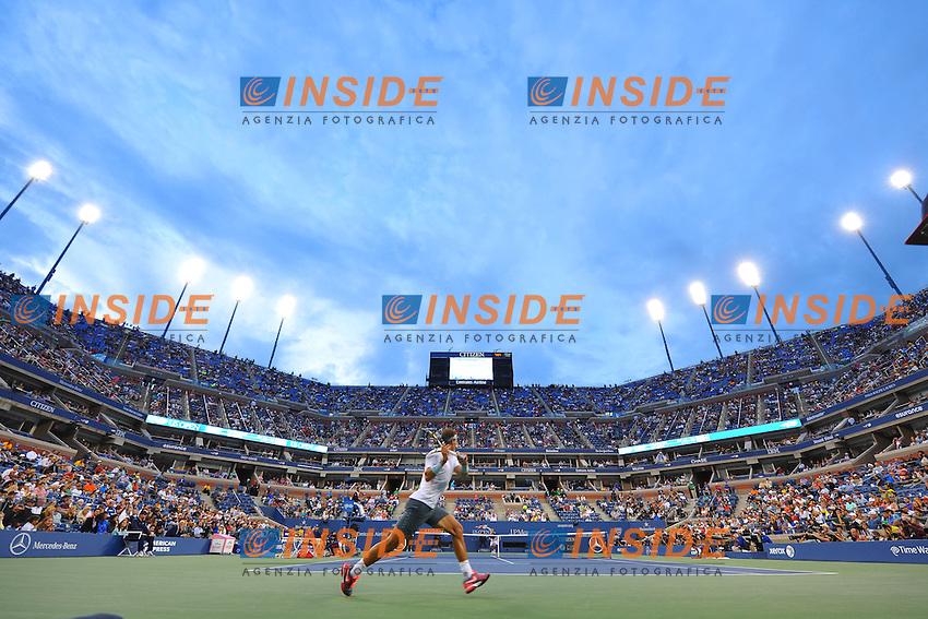 Rafael Nadal (Esp) vs Richard Gasquet (Fra) <br /> Tennis US Open<br /> Foto Panoramic / Insidefoto<br /> ITALY ONLY
