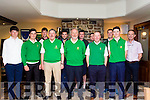 Barton Shield Junior Cup West Munster Final Tralee Golf Club Team<br /> Front Row L-R Kieran Nolan-Tighe, Max Benner, Billy Naughton, Liam Nolan (Captain), Danny Leen, David Nolan-Tighe, Brian Henneberry.<br /> Back Row L-R Killian Wolffe, Derek O'Donnell, Kevin Lucey, Donie O'Keefe, Michael Sheehy.