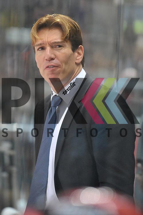 Koelns Trainer Uwe Krupp<br /> <br /> Foto &copy; Rhein-Neckar-Picture *** Foto ist honorarpflichtig! *** Auf Anfrage in hoeherer Qualitaet/Aufloesung. Belegexemplar erbeten. Veroeffentlichung ausschliesslich fuer journalistisch-publizistische Zwecke. For editorial use only.