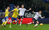 Bolton Wanderers' Craig Noone breaks <br /> <br /> Photographer Andrew Kearns/CameraSport<br /> <br /> The EFL Sky Bet Championship - Bolton Wanderers v Leeds United - Saturday 15th December 2018 - University of Bolton Stadium - Bolton<br /> <br /> World Copyright &copy; 2018 CameraSport. All rights reserved. 43 Linden Ave. Countesthorpe. Leicester. England. LE8 5PG - Tel: +44 (0) 116 277 4147 - admin@camerasport.com - www.camerasport.com