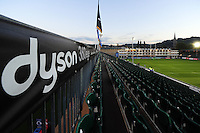 A general view of the Recreation Ground pitch prior to the match. European Rugby Challenge Cup match, between Bath Rugby and Bristol Rugby on October 20, 2016 at the Recreation Ground in Bath, England. Photo by: Patrick Khachfe / Onside Images