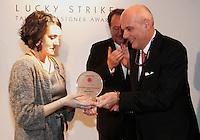 NAPOLI 21/03/2013 MUSEO PLART CERIMONIA DI PREMIAZIONE DELLA .VIII EDIZIONE DEL LUCKY STRIKE TALENTED DESIGNER AWARD ORGANIZZATO DALLA RAYMOND LOEWY  FOUNDATION...