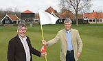 GC Spaarnwoude: Direkteur Peter Blokhuis en Golfbaanarchitect Gerard Jol (r)