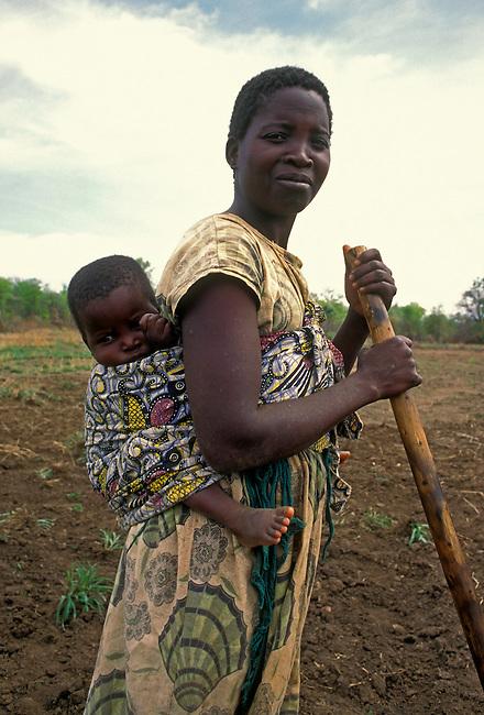 Village of Mahenye, Manicaland Province, Zimbabwe, Africa