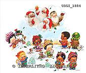 GIORDANO, CHRISTMAS CHILDREN, WEIHNACHTEN KINDER, NAVIDAD NIÑOS, paintings+++++,USGI1884,#XK#