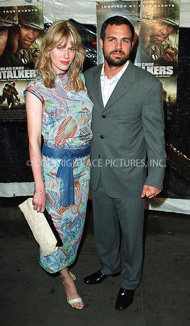 "Mark Ruffalo arrives at the New York premiere of ""Windtalkers."" New York, June 6, 2002. Please byline: Alecsey Boldeskul/NY Photo Press.   ..*PAY-PER-USE*      ....NY Photo Press:  ..phone (646) 267-6913;   ..e-mail: info@nyphotopress.com"
