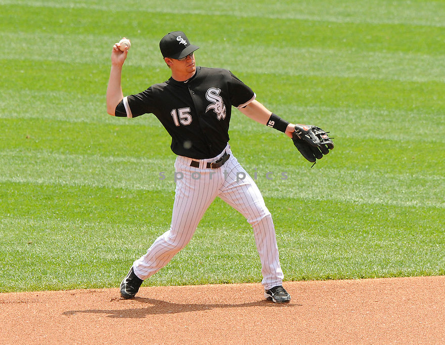 GORDON BECKHAM, of the Chicago White Sox in action during the  White Sox game against the Florida Marlins  at US Cellular Field in Chicago, IL  on May 23, 2010...The Florida Marlins  win 13-0.