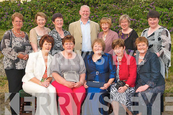 RETIREMENT PARTY: The nursing staff of Kerry General Hospital enjoying a great time at the retirement party of Katherine McKenna and Noranne Keane after 38 years Nursing with the H.S.E. at the West End bar Fenit seated l-r: Catriona O'Neill, Katherine McKenna, Noranne Keane, Mary Griffin and Marian Whyte. Back l-r: May Quirke, Eileen McKenna, Margaret Moyihan, Richard Walsh, Mary Fitzgearld, Mary Shea and Dymipna Griffin.   Copyright Kerry's Eye 2008