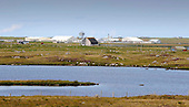 Uist - Range Hebrides - The main base of 50 years of Rocket Range operations at West Gerisnish, South Uist, once run by the UK Armed Forces and now controlled by QinetiQ on behalf of the Ministry of Defence - Picture by Donald MacLeod 20.08.09