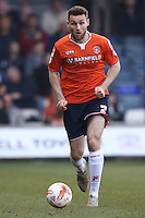 Stephen O'Donnell of Luton Town during the Sky Bet League 2 match between Luton Town and Crawley Town at Kenilworth Road, Luton, England on 12 March 2016. Photo by David Horn/PRiME Media Images.