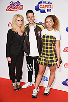 LONDON, UK. December 09, 2018: Paloma Faith, Sigala &amp; Ella Eyre at Capital&rsquo;s Jingle Bell Ball 2018 with Coca-Cola, O2 Arena, London.<br /> Picture: Steve Vas/Featureflash