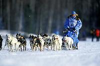 DeeDee Jonrowe, 2001 Iditarod.  Alaska