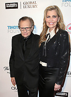 11 November 2017 - Beverly Hills, California - Larry King, Shawn King. AMT 2017 D.R.E.A.M. Gala held at Montage Beverly Hills. <br /> CAP/ADM/FS<br /> &copy;FS/ADM/Capital Pictures