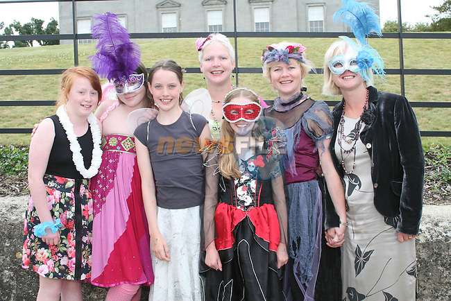 Bronagh McErlean, Grainne McAvinchey, Ciara Muirheid, Roisin Muirheid, Bronagh McAvinchey, Caroline McErlean and Bernie Muirheid at the Outdoor Production of A Midsummer Nights Dream at Oldbridge House...Photo NEWSFILE/Jenny Matthews.(Photo credit should read Jenny Matthews/NEWSFILE)....This Picture has been sent you under the condtions enclosed by:.Newsfile Ltd..The Studio,.Millmount Abbey,.Drogheda,.Co Meath..Ireland..Tel: +353(0)41-9871240.Fax: +353(0)41-9871260.GSM: +353(0)86-2500958.email: pictures@newsfile.ie.www.newsfile.ie.FTP: 193.120.102.198.
