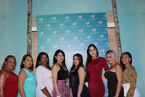 Noemí Peña, Romy López, Paola Marte, Yeniries Betancourt, Isabel Blanco, Stephanía García, Julieta Londoño y Lucy Tapia