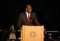STANFORD, CA - DECEMBER 7, 2014-Bernard Muir Director of Athletics at the Stanford Football team banquet at the Arrillaga Alumni Center on Stanford University campus.