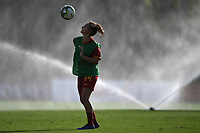 Tecla Pettenuzzo of AS Roma warms up <br /> Roma 8/9/2019 Stadio Tre Fontane <br /> Luisa Petrucci Trophy 2019<br /> AS Roma - Paris Saint Germain<br /> Photo Andrea Staccioli / Insidefoto