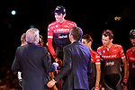 El Pistolero Alberto Contador (ESP) Trek-Segafredo racing his last Grand Tour at the end of the final Stage 21 of the 2017 La Vuelta, running 117.6km from Arroyomolinos to Madrid, Spain. 10th September 2017.<br /> Picture: Unipublic/&copy;photogomezsport | Cyclefile<br /> <br /> <br /> All photos usage must carry mandatory copyright credit (&copy; Cyclefile | Unipublic/&copy;photogomezsport)