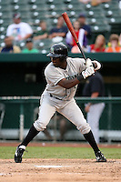 June 13th 2008:  Justin Reed of the Dayton Dragons, Class-A affiliate of the Cincinnati Reds, during a game at Stanley Coveleski Regional Stadium in South Bend, IN.  Photo by:  Mike Janes/Four Seam Images