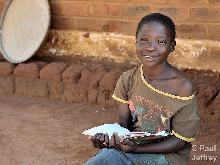 A woman in Matuli, Malawi.