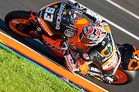 World Champion Marc Marquez qualifying laps
