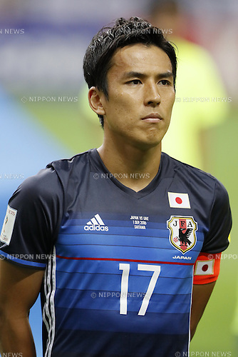 Makoto Hasebe (JPN), SEPTEMBER 1, 2016 - Football / Soccer :<br /> FIFA World Cup Russia 2018 Asian Qualifier<br /> Final Round Group B<br /> between Japan 1-2 United Arab Emirates<br /> at Saitama Stadium 2002, Saitama, Japan.<br /> (Photo by Yusuke Nakanishi/AFLO SPORT)
