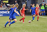 Portland, OR - Saturday May 06, 2017: Amandine Henry during a regular season National Women's Soccer League (NWSL) match between the Portland Thorns FC and the Chicago Red Stars at Providence Park.
