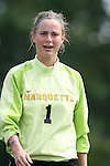 Marquette's Laura Boyer on Sunday September 17th, 2006 at Koskinen Stadium on the campus of the Duke University in Durham, North Carolina. The Duke Blue Devils and Marquette Golden Eagles tied 1-1 after overtime in an NCAA Division I Women's Soccer game.