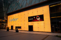 Daytime landscape view of the Cartier Showroom Store in Pudong.  © LAN