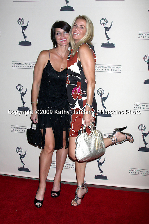 Lesli Kay & Katherine Kelly Lang arriving at  the Daytime Emmy Nominees Reception at the Television Academy  in  North Hollywood, CA on August 27, 2009.©2009 Kathy Hutchins / Hutchins Photo.