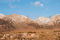 Eastern face of the Sierra Nevada, near Lone Pine, California