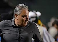 SAO PAULO SP, 27  MARCO 2013 - Paulistao 2013 - CORINTHIANS X PENAPOLENSE  -  Tite    durante partida valida pelo campeonato paulista de 2013 no Estadio do Pacaembu em Sao Paulo, nesta quarta feira , 27. (FOTO: ALAN MORICI / BRAZIL PHOTO PRESS).