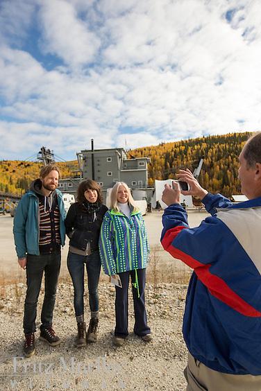 Dredge No. 4 National Historic Site of Canada in Dawson City, Yukon