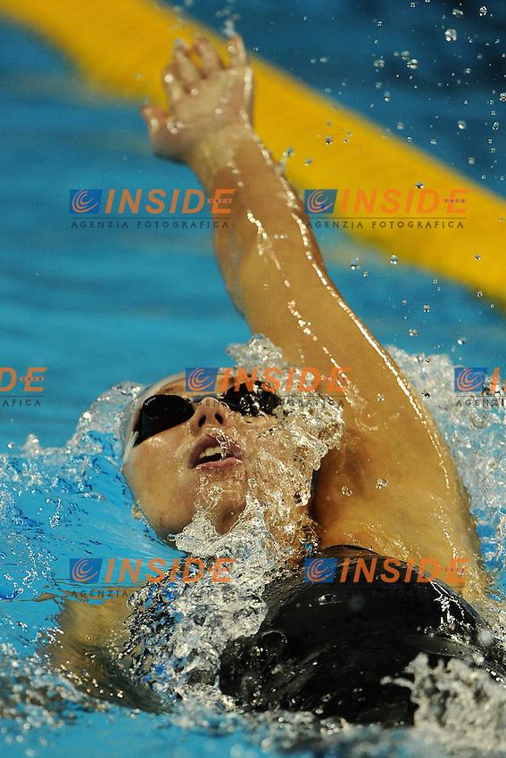 Anastasia ZUEVA Russia.Women's 200m Backstroke - Swimming / Nuoto.Shanghai 29/7/2011 .14th FINA World Championships.Foto Andrea Staccioli Insidefoto