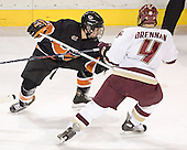 Lee Jubinville, Mike Brennan - Boston College defeated Princeton University 5-1 on Saturday, December 31, 2005 at Magness Arena in Denver, Colorado to win the Denver Cup.  It was the first meeting between the two teams since the Hockey East conference began play.