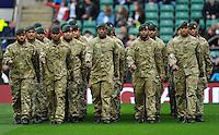 Twickenham, England.  QBE Internationals England v Fiji at Twickenham Stadium on 10 November. Twickenham, England, 2012